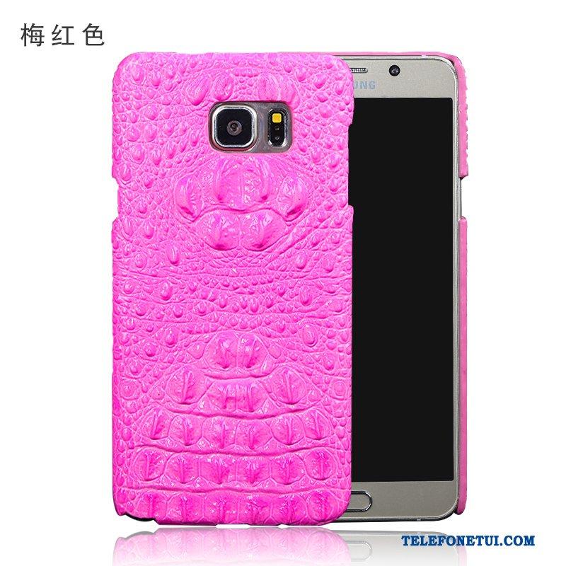 Futerał Dla Samsung Galaxy S6 Edge + Etui Na Telefon Gwiazda Skórzany  Ochraniacz Czerwony Skóra 235fbc00f0a6