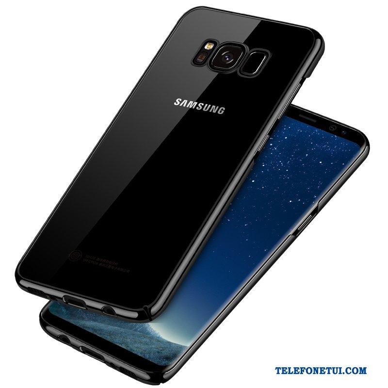 Futerał Dla Samsung Galaxy S8 Etui Na Telefon Przezroczysty Czarny Trudno  All Inclusive Tanie a38606d84818